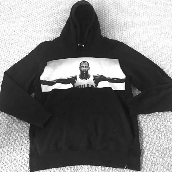 Air Jordan Wings Black Hoody Sweatshirt